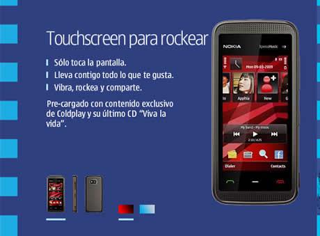 nokia 5530 Nokia 5530 XpressMusic, un celular para rockear!