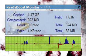 readyboost Monitorea el ReadyBoost de Windows