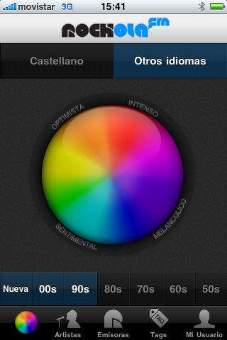 escuchar musica iphone Escuchar musica online en iPhone con Rockola.fm