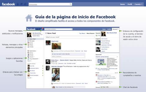nuevo facebook Facebook, nuevo diseño