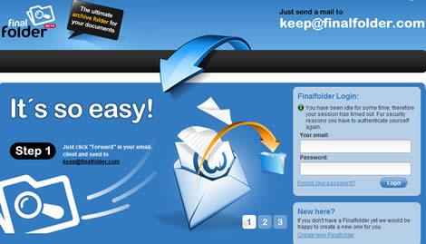 respaldar archivos Respaldar documentos online con FinalFolder