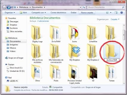 Comprimir archivos RAR 2 Como comprimir varios archivos en un archivo RAR