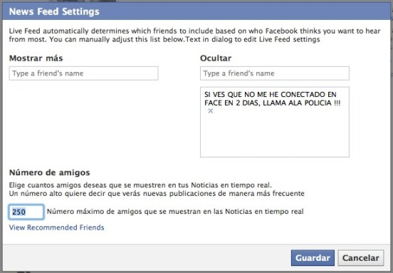 como ocultar noticias en facebook 6 Cómo ocultar noticias en tu perfil de Facebook