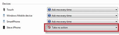 iPhoneDisableAuto.png Como desactivar la reproducción automática de tu iPhone en Windows 7