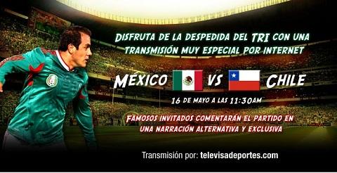 mexico chile despedida Mexico vs Chile en vivo