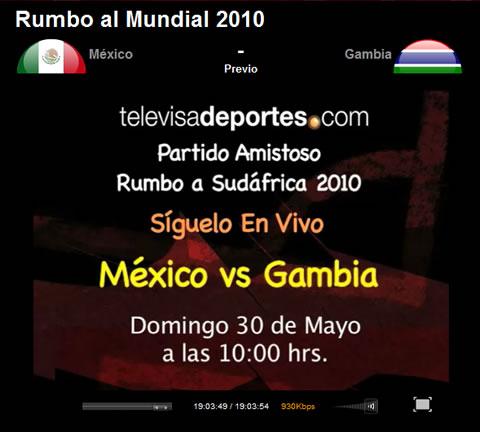 mexico gambia en vivo Mexico vs Gambia en vivo