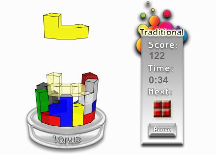 tetris 3D Tetris, un juego clásico ahora 3D