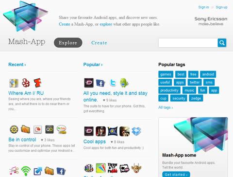 aplicaciones android Aplicaciones android descubrelas en Mash App.com