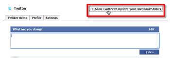 autorizar twitter Como vincular tu cuenta de Twitter con Facebook