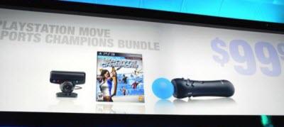 move precio Sony PS3 Move y mas en el E3 2010