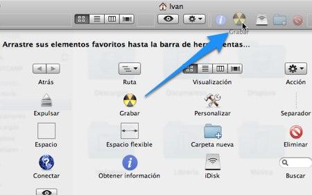 personalizar barra herramientas mac 3 Como personalizar las Barras de Herramientas de Mac