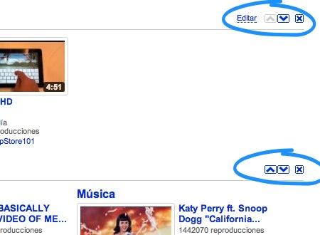 personalizar pagina youtube 4 Como personalizar la pagina principal de YouTube