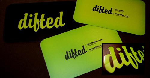tarjetas presentacion difted Diseños de tarjetas de presentación (95 diseños)