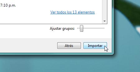 Importar fotos camara galeria fotografica windows 7 Importar fotos con Galería de Fotos de Windows Live