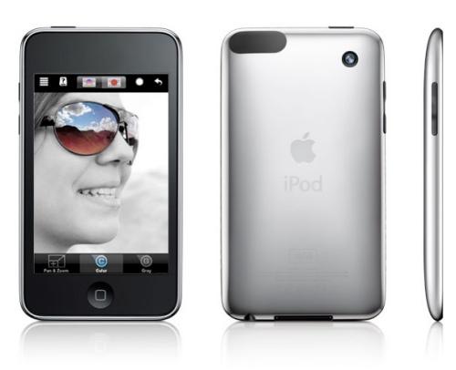 ipod touch con camara de fotos y video Rumores de un nuevo iPod Touch con cámara y 3G