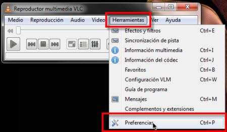 preferencias vlc Colocar un video como fondo de pantalla