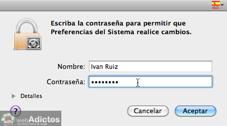 Mostrar usuario en la barra de menus Mac 3 Mostrar cambio rápido de usuario, o sea, tu nombre en la barra de menús