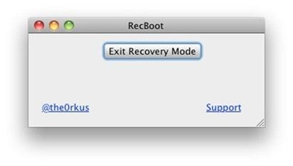 Recboot Como hacer downgrade al iPhone 3G de iOS 4 a 3.1.3