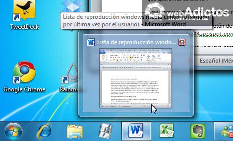 vista previa office 2010 Agregar Tabs a tus documentos de Word