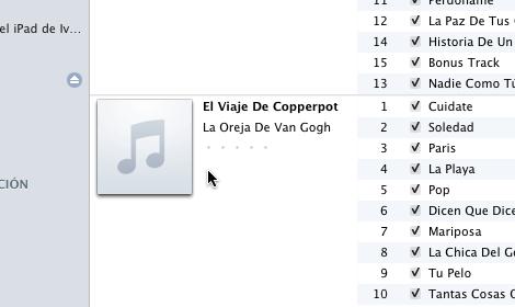 Agregar portada album iTunes manual rapido 1 Agrega ilustraciones de álbumes manualmente rápido en iTunes