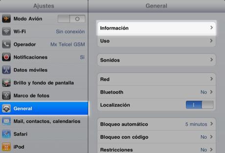 Direccion MAC de iPhone iPad iPod Touch 2 Obtén la dirección MAC de tu iPad, iPhone o iPod Touch