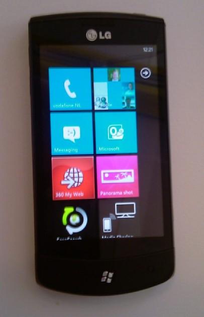 Se confirma el LG Optimus 7 con Windows Phone 7