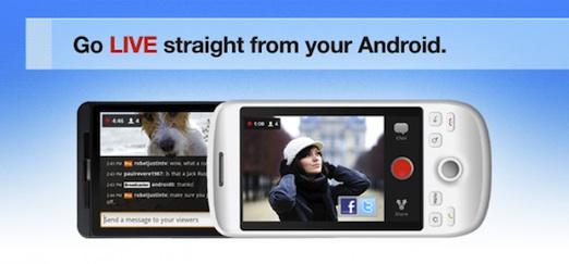 justintv android Justin.tv lanza su aplicación para Android