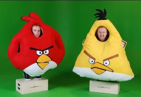 angry birds disfraz Divertidos disfraces de Angry Birds