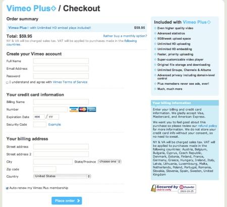 cueta premium vimeo Crear una cuenta en Vimeo