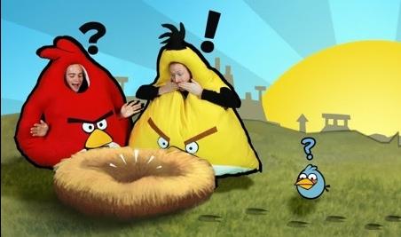 disfraces angry birds 1 Divertidos disfraces de Angry Birds