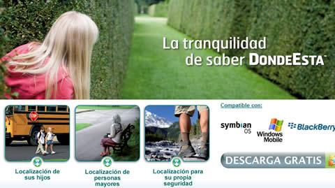 localizar celulares Localizar celulares con un SMS, DondeEsta