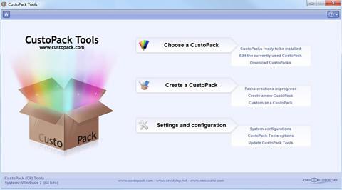 personalizar windows custopack Temas windows personalizados con CustoPack