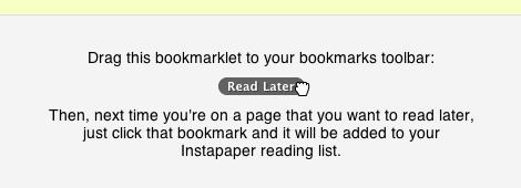 Leer paginas despues instapaper 4 Guardar paginas para leerlas después con Instapaper