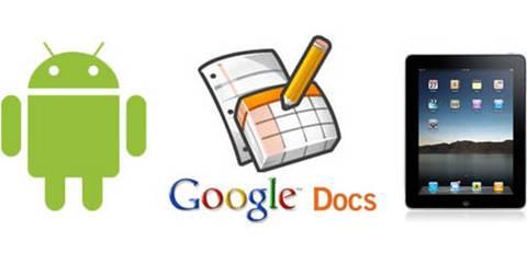 Edita documentos de Google Docs desde iPhone, iPad y Android