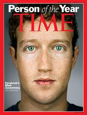mark zuckerberg time Mark Zuckerberg Personaje del año de la revista TIME