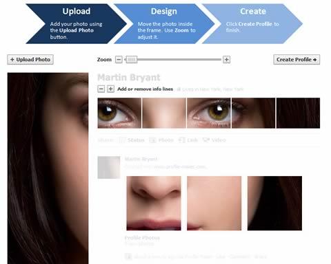 profile maker facebook Personaliza tu nuevo perfil de Facebook con Profile Maker