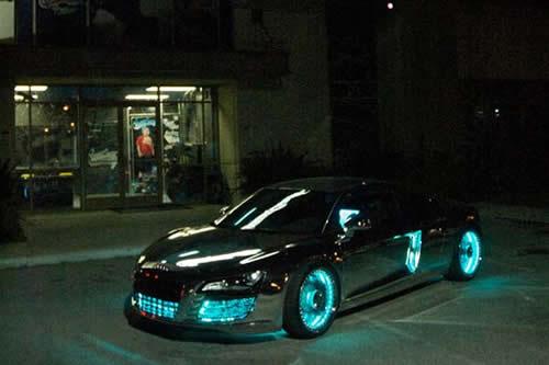 Audi R8 Tron 607p Audi R8 Tron Legacy