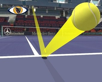 ojo de halcon nuevo ¿Cómo funciona el Ojo de Halcón en el Tenis?