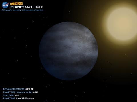 planet extreme makeover Extreme Planet MakeOver, crea tu propio planeta