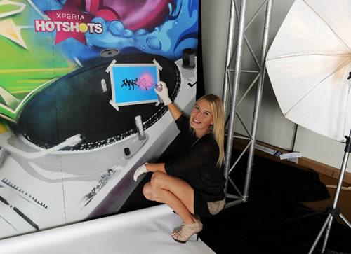 xperia hot shots tenis Xperia Hot Shots de Sony Ericsson, el tenis y el entretenimiento juntos