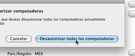 retirar autorizacion itunes tienda 4 Como retirar autorización a tus ordenadores de tu cuenta de iTunes