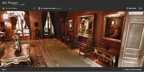 tour virtual museos Google Art Project, visitas virtuales a museos del mundo