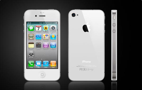 iphone 4 white Se confirma el iPhone 4 blanco para primavera