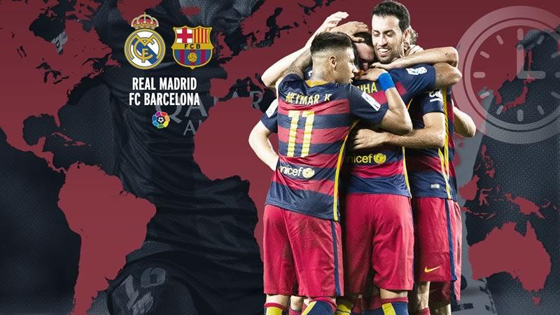 A qu hora juega real madrid vs barcelona y en qu canal for A que hora juega el real madrid
