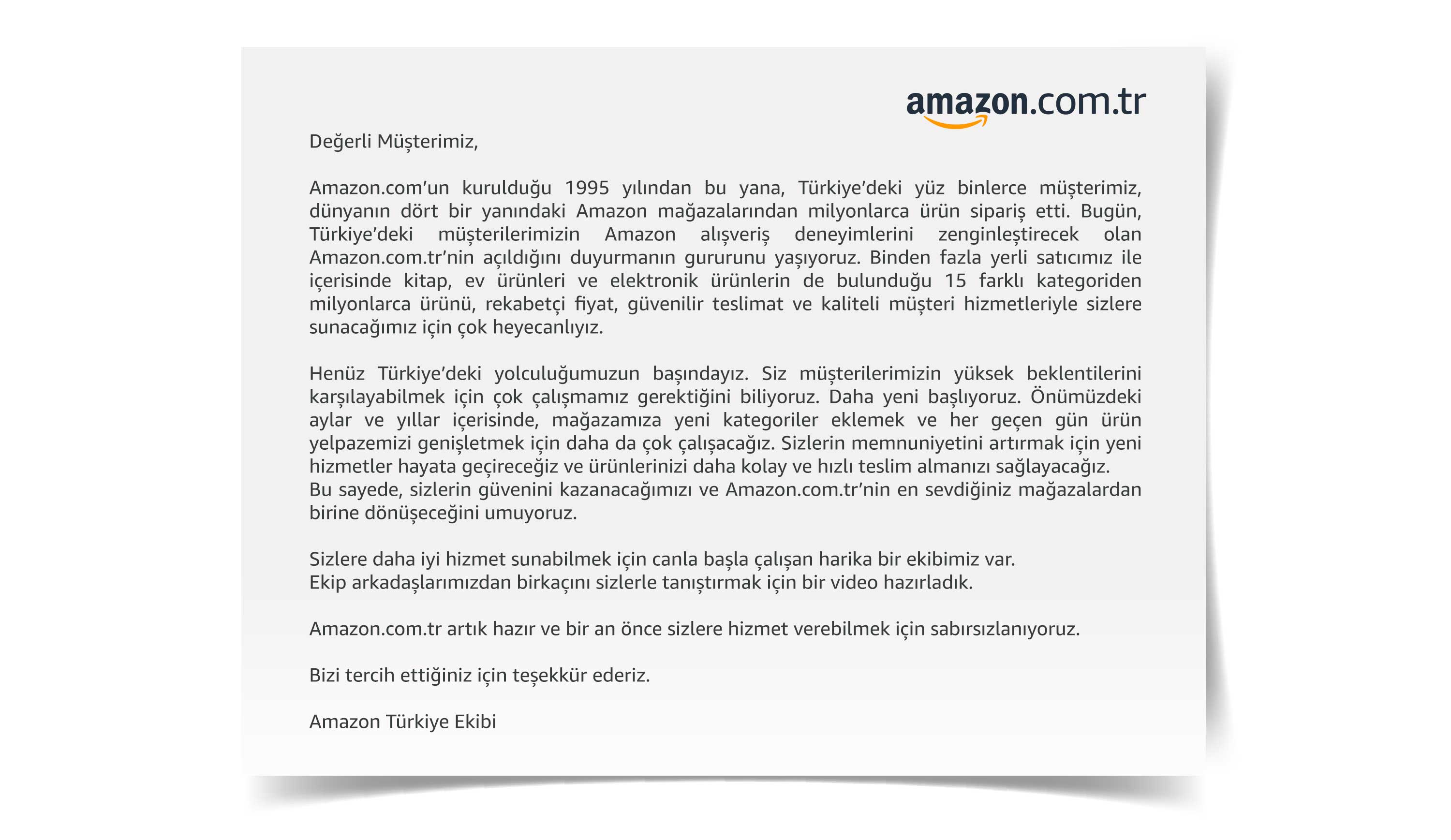 Amazon Turkey Amazon Launches In Turkey Webrazzi