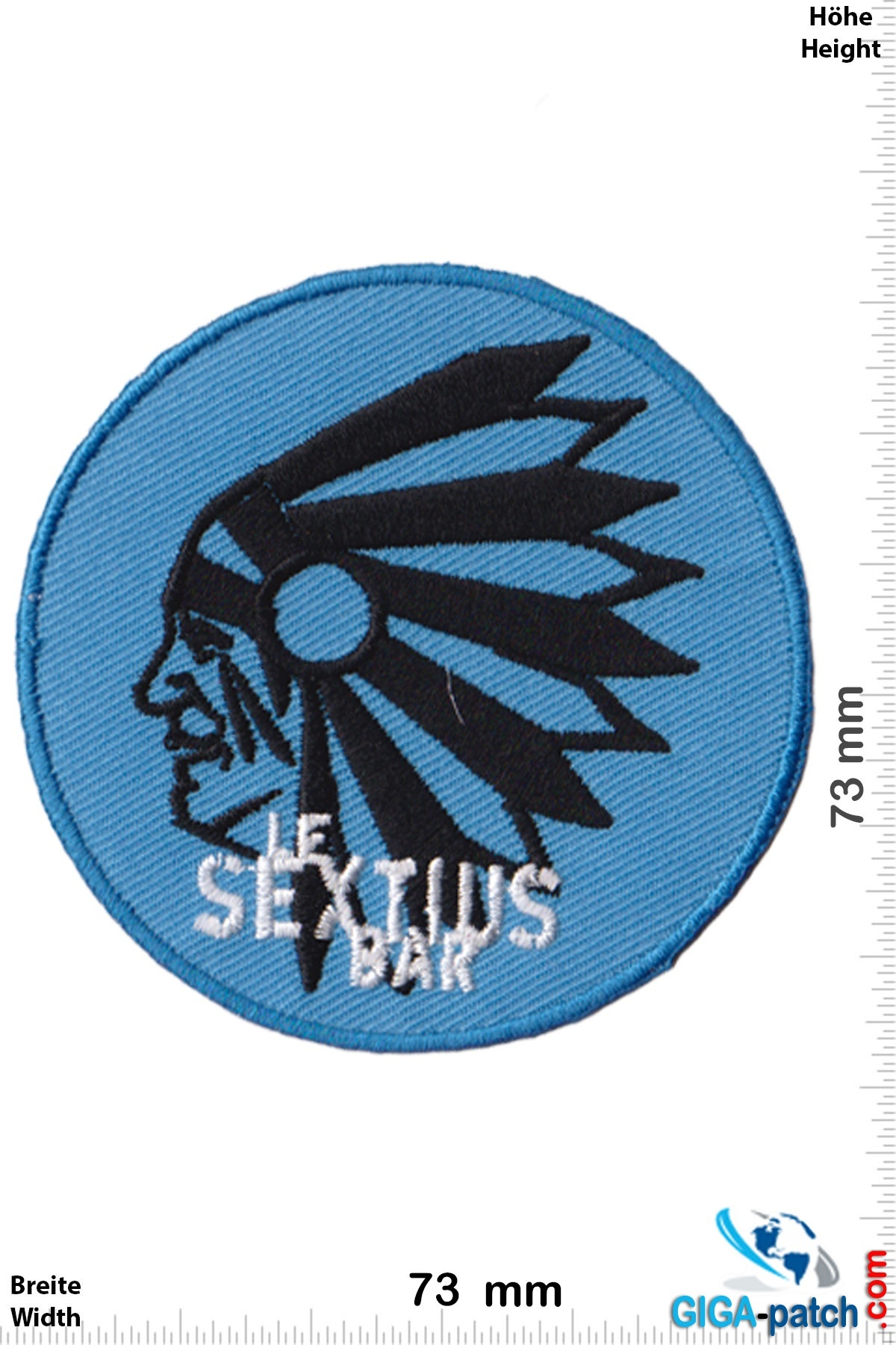 Le Sextius Bar Le Sextius Bar Patch Back Patches