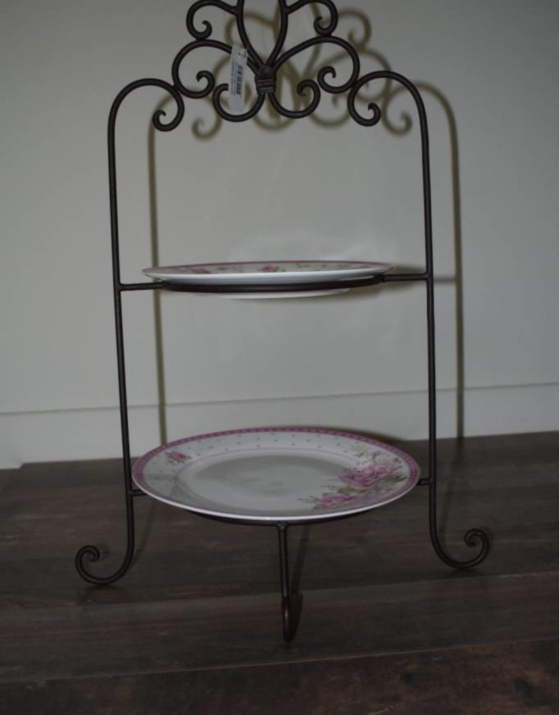 Etagère Métal Etagère From Metal With Romantic Dinner Plates From Clayre Eef