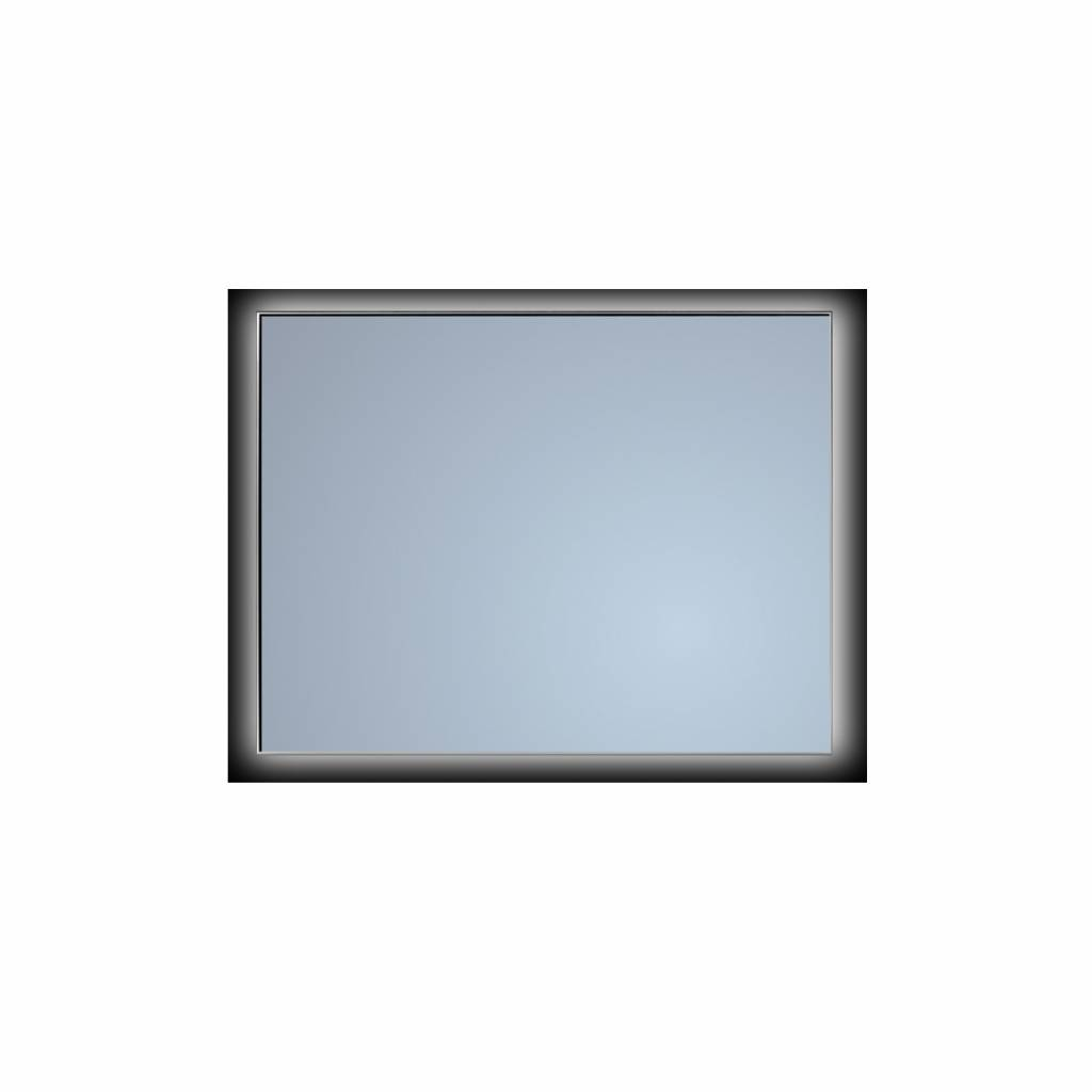Led Verlichting Schakelaar Sanicare Badkamerspiegel Sanicare Q Mirrors Ambiance Cool White Led Verlichting Handsensor Schakelaar 70x85x3 5 Cm Zwarte Omlijsting