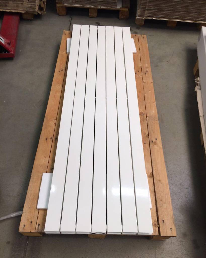 Colour Ral 9010 Radiator In Traffic White Colour Ral 9016 Hothot Radiators