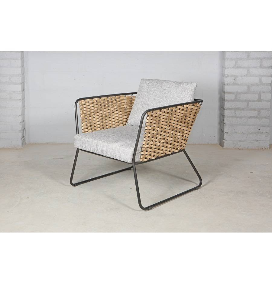 Sessel Rattan Design Lounge Sessel Camps Bay Rattan Gartensessel